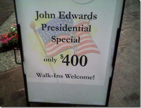 John Edwards Special
