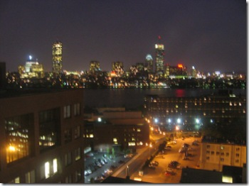 Boston Skyline (night)